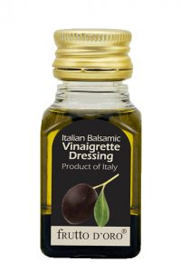 Single serve Italian balsamic vinaigrette dressing