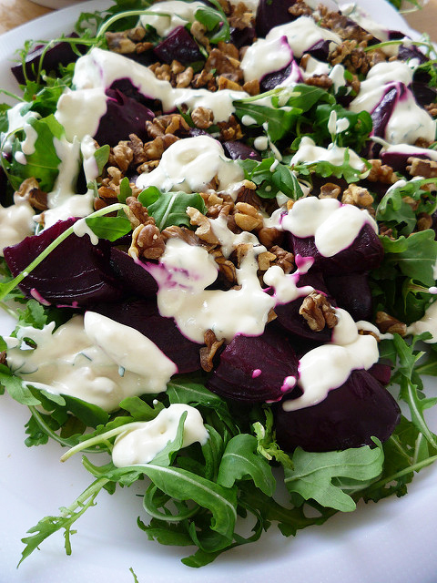 rocket-beetroot-salad