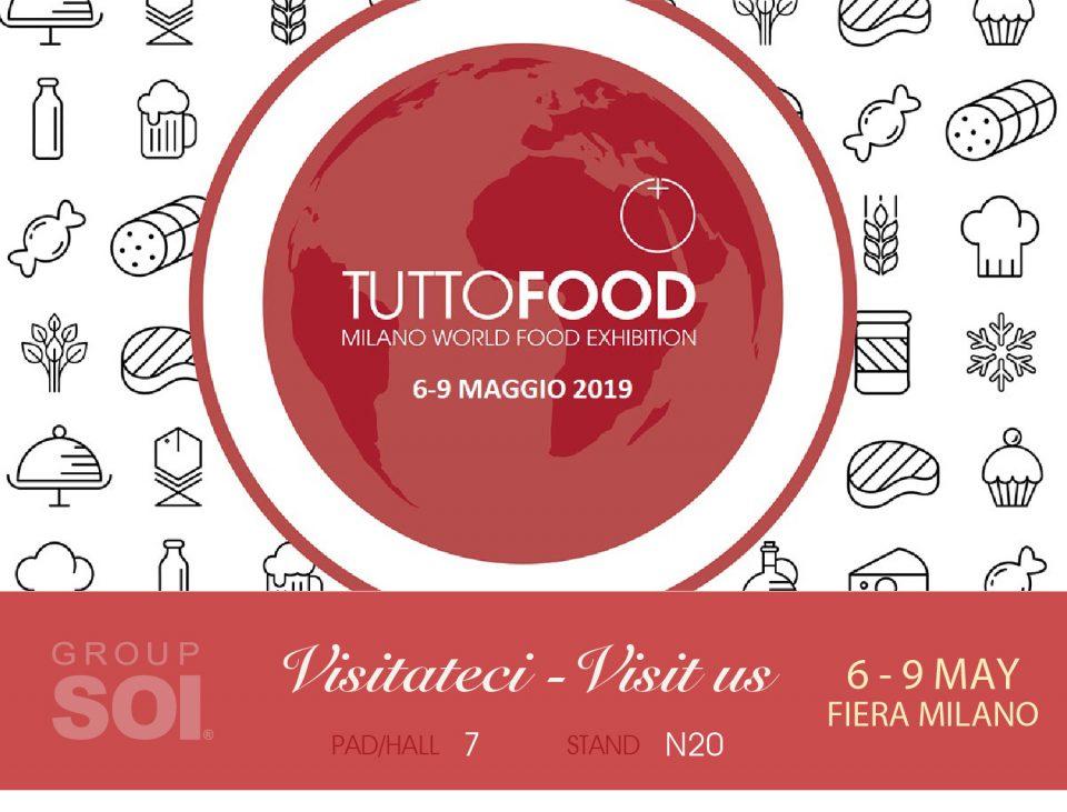 group soi, tutto food, 2019, tuttofood, fiera, milano, milan