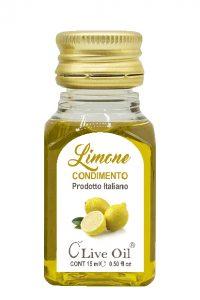Condimento monodose al Limone con Olio extra vergine di Oliva