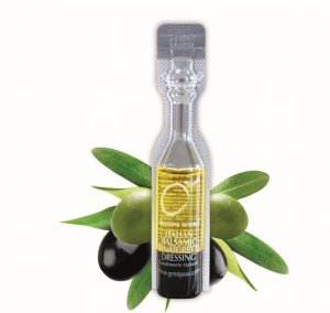 Condimenti monodose italiani, condimenti monodose, olio monodose